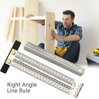 Ultra Precision Marking Ruler Scale Ruler T-type Hole Stainless Scribing Ruler