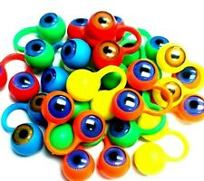 6, 10, 20, 30 Finger Eye BLUE BROWN EYEBALL Birthday Party Favor Loot BAG FILLER
