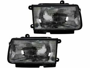 For 1998-1999 Isuzu Rodeo Headlight Assembly Set 91574GH Headlight Assembly