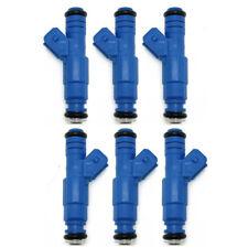 Set 6 OEM Bosch Upgrade Fuel Injectors For 91-99 BMW 323i 325i 525i M3 2.5L 3.0L