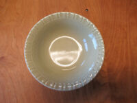 "MSE Martha Stewart BASKETWEAVE GREEN Soup Bowl 7 1/4""   1 available"