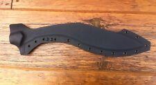 Custom Black Kydex Sheath For Cold Steel Knives ROYAL Kukri Machete Knife