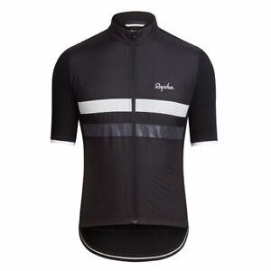 Rapha Brevet Windblock Jersey Short Sleeve Black Size Medium BNWT