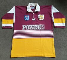 Vintage Brisbane Broncos Early 90s Jersey Power's (2XL) Canterbury