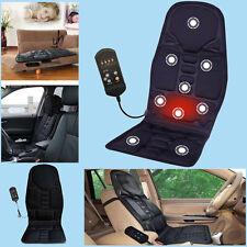 8 Kinds Massage mode Car Vibration Cushion Back Neck Pain Lumbar Pad Massager