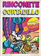 RINCONETE Y CORTADILLO de M. Cervantes Cómic por Quique Almendros y J. M. Oliver