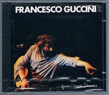 FRANCESCO GUCCINI ...QUASI COME DUMAS CD F.C. NUOVO SIGILLATO!!!