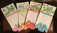 Vintage Current Just-A-Note Lot Assorted 28 Cards Floral Butterflies