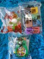 Super Mario McDonald's Happy Meal Toy Set of 3 2017 and 2018  RARE.