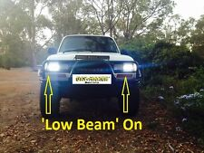 80 Series Cruiser Hi-Low Beam Projector 4x6 Inch Headlights 12-30V DC DOT 1 pr