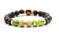 Imperial Jasper Chakra Stones Bracelet. Natural Healing Christal Beads Jewellery