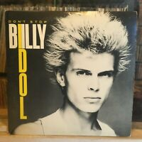 [ROCK/POP]~EXC LP/EP~BILLY IDOL~Don't Stop~[OG 1981~CHRYSALIS~Issue~w/ POSTER!}~