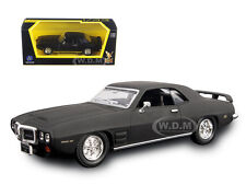 1969 PONTIAC FIREBIRD TRANS AM MATT BLACK 1/43 MODEL BY ROAD SIGNATURE 94238