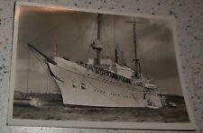 Photo AK Aviso Grillon EMPIRE MARINE MARINE de GUERRE Navire Ship Cruiser