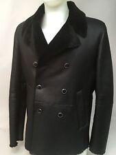 Emporio Armani Men's Merino Shearling Lamb Skin Jacket Size 44 US /54 - $3,375