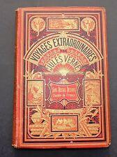 Jules VERNE. Sans dessus dessous. Hetzel Cartonnage aux 2 éléphants. 1889.