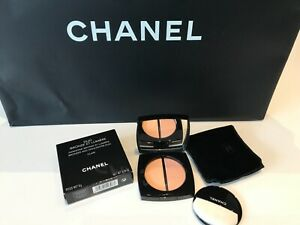 Chanel Duo Bronze Et Lumiere Bronzer And Highlighter Duo Clair 8g New Box