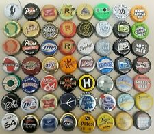 56 different WISCONSIN Bottle Caps crowns - BEER and SODA mixed LOT W6