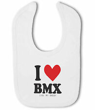 I Love BMX like my Daddy / Uncle / Cousin - Baby Bib