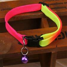 Fashion Colorful Adjustable Pet Dog Collar for Medium Large Dogs AdtN