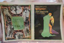 Original 1926 Silent Movie Flyer Don Juan John Barrymore Vitaphone Warner Bros.