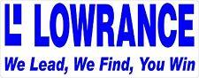 Lowrance sticker 190 x 75 mm  BUY 2 & Receive 3