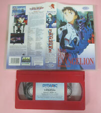 VHS film NEON GENESIS EVANGELION 0:1 Episodio 1-2 animazione DYNAMIC(F167)no dvd
