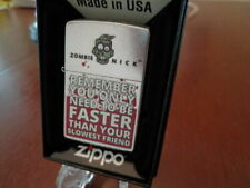 New listing Zombie You Only Have To Be Faster Than Your Slowest Friend Zippo Lighter