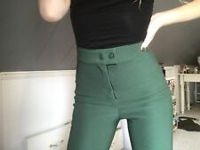 American Apparel Green Riding Pants Size S