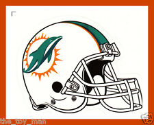 MIAMI DOLPHINS FOOTBALL NFL HELMET DECAL STICKER TEAM LOGO~BOGO 25% OFF