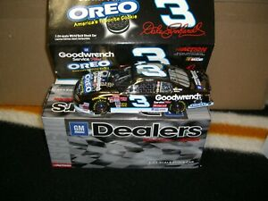 1/24 Action 2001 Dale Earnhardt Oreo GM Dealers chrome one of 5000