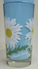 Shasta Daisy Peanut Butter Glass Glasses Drinking Kitchen Mauzy 95-1