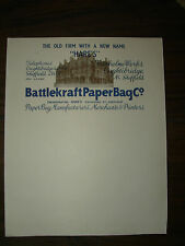Vintage Sheffield Ephemera Letterhead Hares Paper Bag Makers Oughtibridge