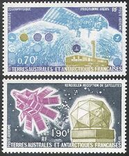 "FSAT/TAAF 1979 ""Argos""/Satellites/Earth Station/Space/Research  2v set (n23009)"