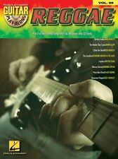 Guitar Play-Along Reggae Play Jam Burning Spear Bob Marley TAB Music Book & CD