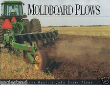 Farm Implement Brochure - John Deere - Moldboard Plows - 1992 (FB259)