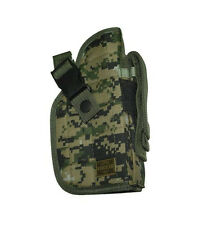 NEW Woodland Digital Camouflage Right Handed Belt Gun Holster