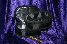 OLAY insulated MAKE UP PROTECTOR bag cosmetic purse BLACK silk SMALL AG