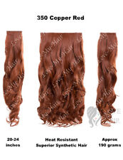 "KoKo  3 Piece 20"" Curly Hair Extensions, Heat Resistant, 190 grams (E3)"