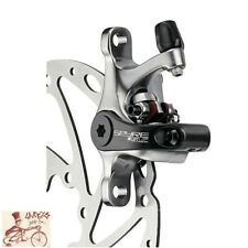 TRP SPYRE SLC-140 MECHANICAL BICYCLE DISC BRAKE W/ ROTOR AND ADAPTER