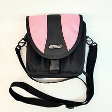 Official Licensed Nintendo DS DSL DSi Travel Bag Large Carry Case Black & Pink