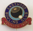Eastwood Bowling Club Badge Founded 1929 Rare Vintage (L8)