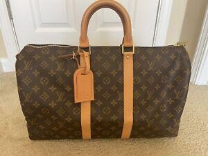 Louis Vuitton handbag Monogram Keepall 45