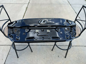 lexus rc f trunk lid and active aero assembly, black, excellent condition
