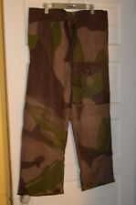 BRITISH ARMY WW2 1942 Pattern Camouflage Windproof Trousers *1943 dated*Unissued