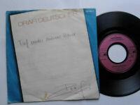 """Drafi Deutscher / Tief Unter Meiner Haut 7"""" Vinyl Single 1984 mit Schutzhülle"""