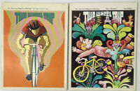 Two Wheel Trip Psychedelic American Magazine of Cycling Premiere Issue +Vol 1 #1