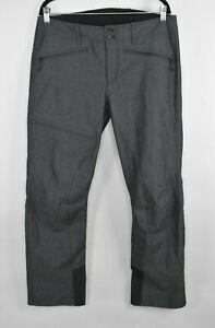 "New Bogner Fire + Ice Hakon Mens Snowboard Ski Pants Size M-L 36"" Gray"
