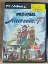 Wild Arms - Alter Code: F (Sony PlayStation 2, 2005) PS2