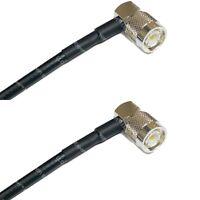 RG58 TNC Male Angle to TNC Male Angle Coaxial RF Cable USA-Ship Lot